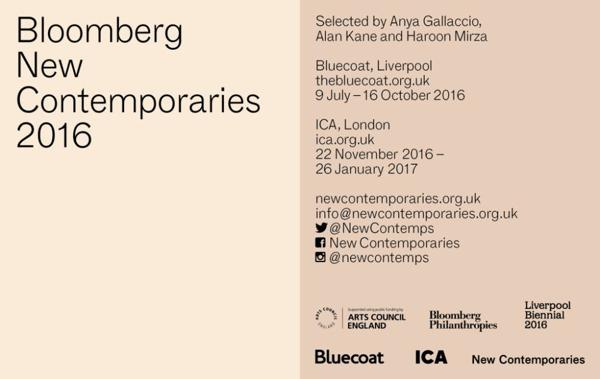 Bloomberg New Contemporaries 2016