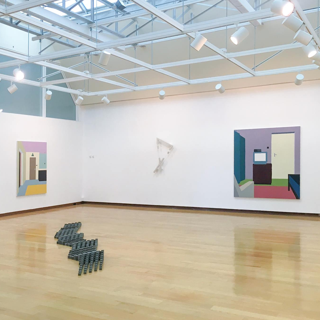 Zsofia Schweger - Motion/Less installation view